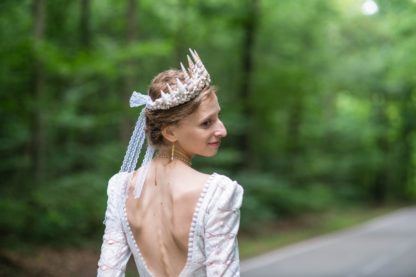 wedding mermaid crown alize deer-and-son