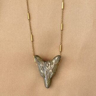 Collier WOLF Pyrite