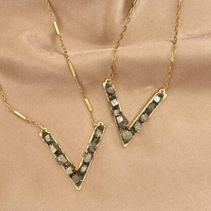 Collier VINCENT Pyrites